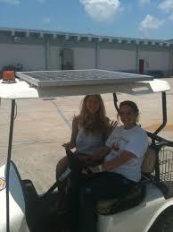 solar electric hybrid golf cart u0026 roof solar panel photos