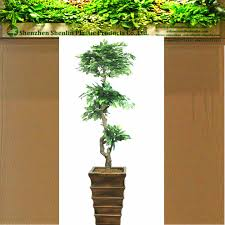 large decorative cheap layered artificial plants in bulk for the
