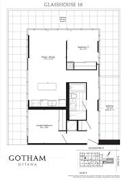 rented two bedroom glasshouse unit at gotham u2014 matt richling