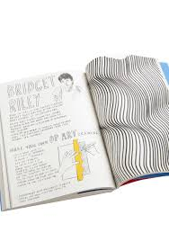 bridget riley idea with paper template for lines art lesson