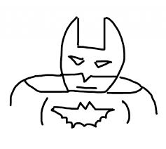 easy drawing of batman how to draw batman how to draw batman how