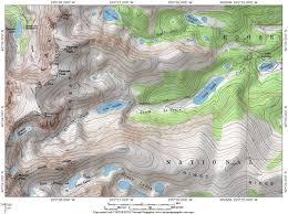 Colorado Lakes Map protrails isabelle glacier trail map brainard lake recreation