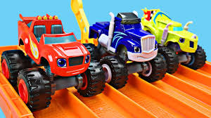 monster truck kids videos monster trucks for kids blaze and the monster machines racing