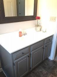 Grey Bathroom Vanity by Best 25 Paint Vanity Ideas On Pinterest Diy Bathroom Cabinets