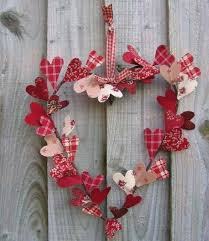 Valentine Home Decor Heart Shape Wreath Cute Gifts Crafts Ideas For Cool Great Decor