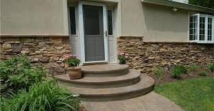 concrete steps u0026 stairways stamped u0026 colored concrete stairways