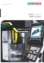 dmu 50 ecoline dmg mori pdf catalogue technical