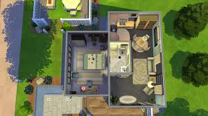 mod the sims perry small modern home