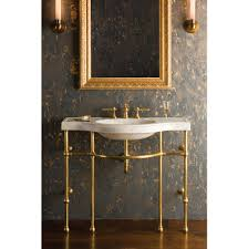 carrara marble console sink stone forest c92 42 ca at elegant designs floor standing bathroom
