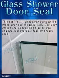 Sealing Glass Shower Doors Ds104 Glass Shower Door Seal To Fill A Gap 98 2 49