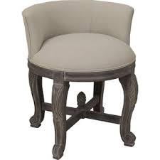 vanity chair with skirt fluffy vanity chair wayfair