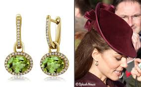 mcdonough citrine drop earrings earrings what kate wore