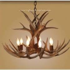 Deer Antler Light Fixtures How To Make Deer Antler Chandelier Yourself Lighting And Chandeliers