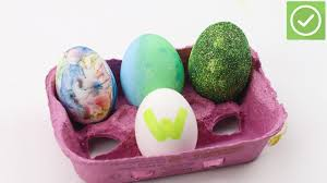 how to decorate easter eggs 4 ways to decorate easter eggs wikihow
