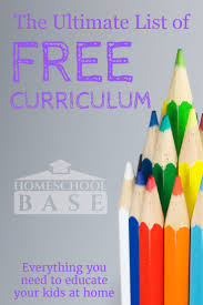 free homeschool curriculum the ultimate resource list
