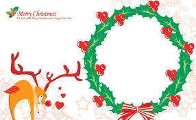 christmas card template free vector studentresumetemplates org