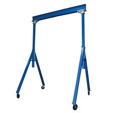 vestil 2 000 lb 3 ft to 5 ft dc powered adjustable boom lift