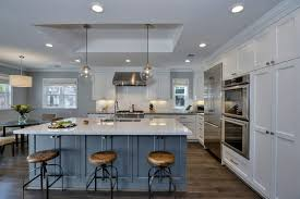 blue kitchen island white cabinets blue kitchen island ellajanegoeppinger com