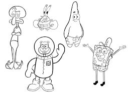 spongebob drawing process by candydoodlz on deviantart