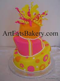 world wide wedding and birthday cakes pink unique elegant fondant