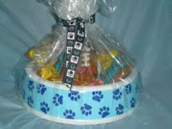 dog gift baskets dog treat gift basket