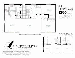 open floor house plans with walkout basement one story house plans with walkout basement elegant open floor plans