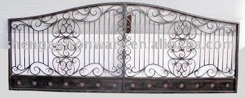 ornamental custom metal fence gate buy iron fence metal fence
