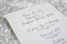 invitation paper custom calligraphy for wedding invitations fleur de letters