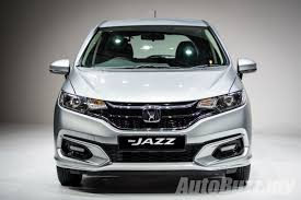 honda jazz facelift launched in m u0027sia 1 5l sport hybrid priced