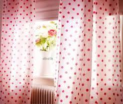 Polka Dot Curtains 4 Kinds Of Pink Polka Dot Curtains