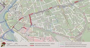 Fahrrad Bad Cannstatt Radfahren In Stuttgart Weiße Linien Reichen Nicht Radweg