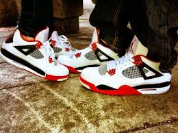 matching shoes for him and air s 4s him and hers my kicks splashy