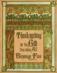 thanksgiving figures happy thanksgiving alphonse mucha ilsee frame of leave flickr