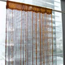 String Tassel Curtains Room Divider Chain String Curtains Window Door Polyester Tassel