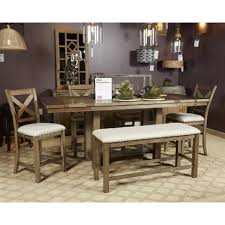 6 pc dining table set moriville 6 pc dining sets table 4 chairs bench
