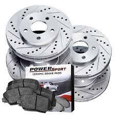 lexus is250 awd brake pads amazon com full kit drilled slotted brake rotors and ceramic pads