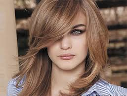 shoulder length hair for fat face 25 modern medium length haircuts with bangs layers for thick