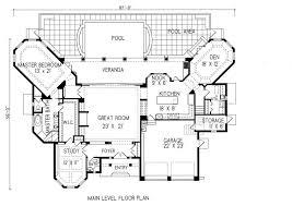 spanish revival house floor plans