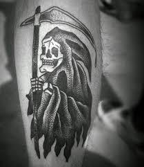 70 grim reaper tattoos for men merchant of death designs