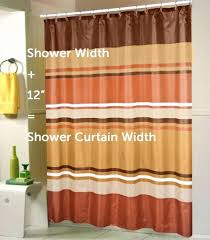 short shower curtain for window smlf