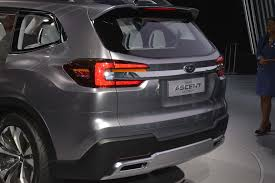 subaru 2018 subaru ascent suv revealed in new york the drive