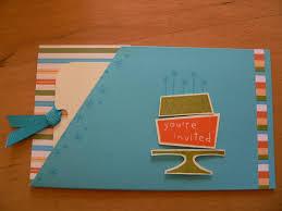 kids birthday invitations stampin u0027 with sally