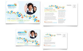 9 best images of marketing postcard templates conference