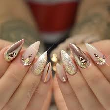 nail designe top 40 beautiful glitter nail designs to make you look trendy and