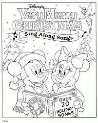 disney merry christmas coloring pages print disney merry christmas