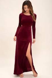 velvet dresses long oasis amor fashion