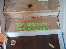 cutting laminate stair treads