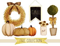 thanksgiving cliparts fall clipart hand painted fall clipart thanksgiving clipart