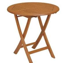 round wooden folding table folding table wood costa home