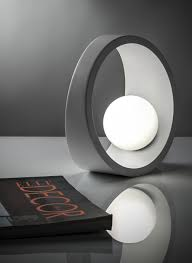 led aluminium table lamp tenue by ilide design nicolò gessa
